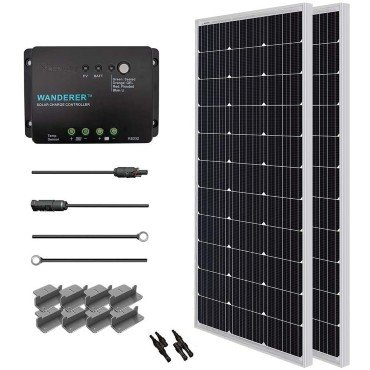 best solar panel for rv use