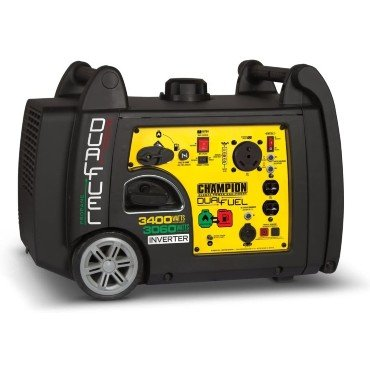 dual fuel generator for travel trailer and camper