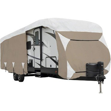 high quality travel trailer cover for snow